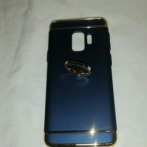 Case galaxy s9plus color blue navy